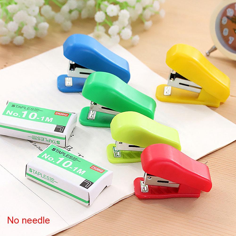 Mini Small Stapler Useful Mini Stapler Staples Set Supplies