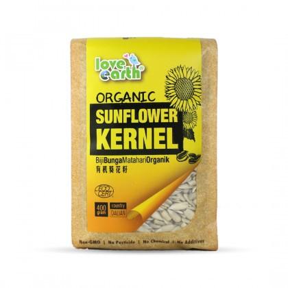 Love Earth Organic Sunflower Kernel 400g 乐儿有机葵花籽 400公克 (袋装)