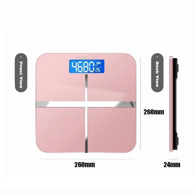 Usb Charging Weighing Scale Lcd Display Electronic Smart Balance Body Accurate Medical Jualan Murah [ READY STOCK ]
