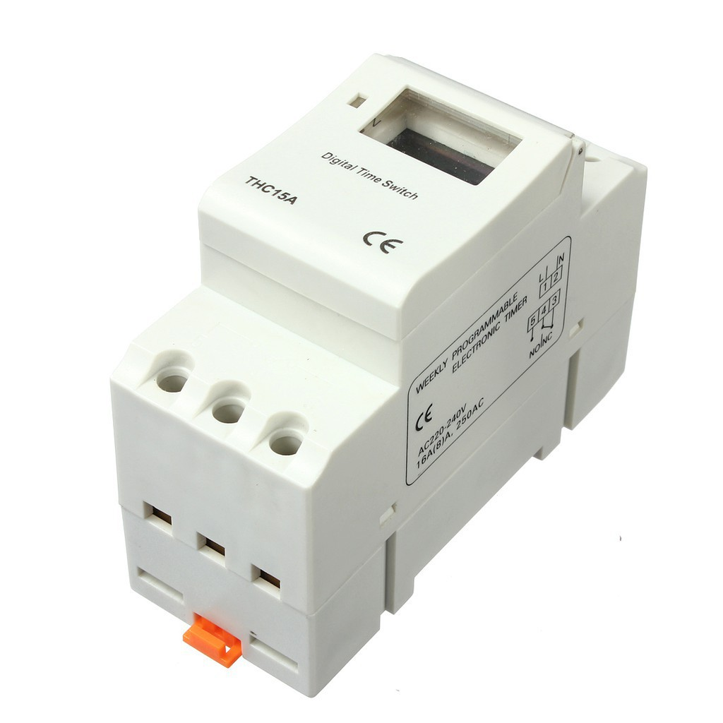 220v Rail Din Weekly Programmable Switch Digital Relay Timer Circuit Shopee Malaysia