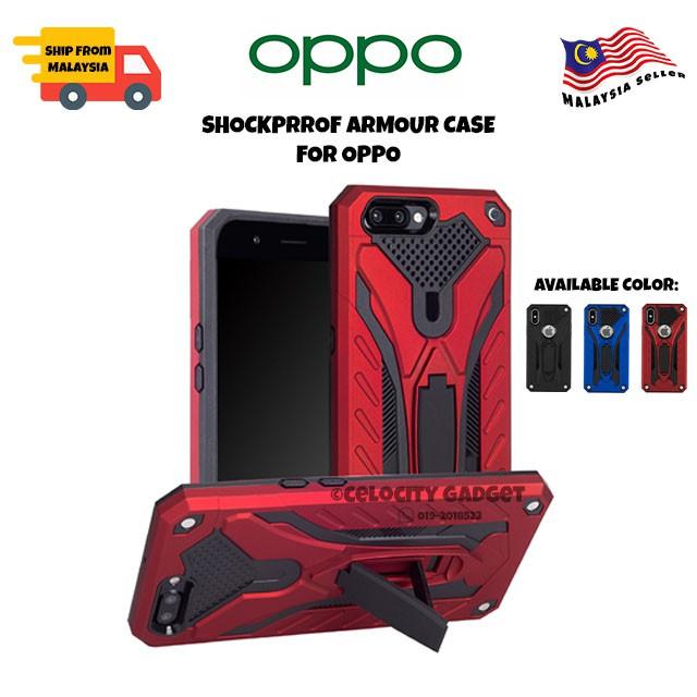 OPPO A92/A5/A92020/A5s/A3s/A37/A57/A59/A71/A77/A83/A1k/C2 Armor Hard Case