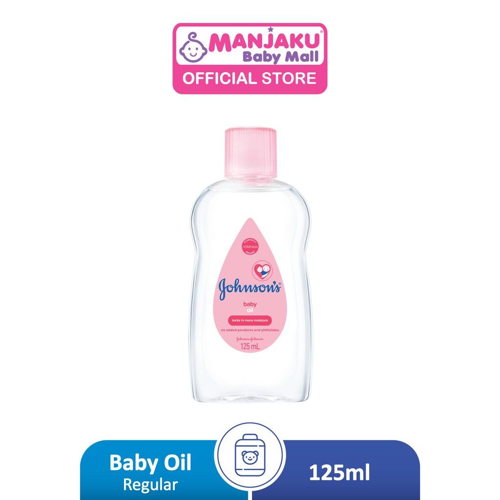 Johnson Baby Regular Oil (125ml)