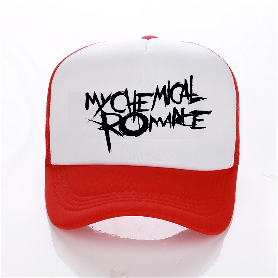 4c37bc7d0 My Chemical Romance Rock cap baseball caps women cap trucker cap Hip-Hop Hat