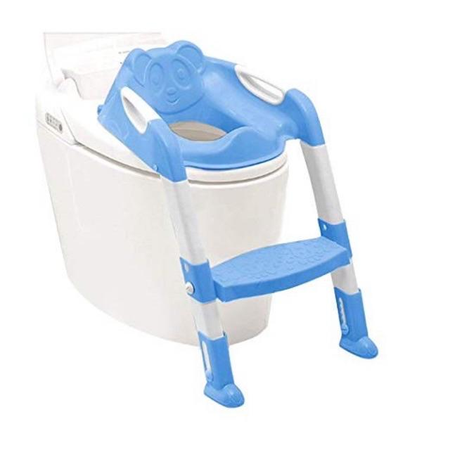 Child kids potty ladder Early Training Toilet Bowl <NH store