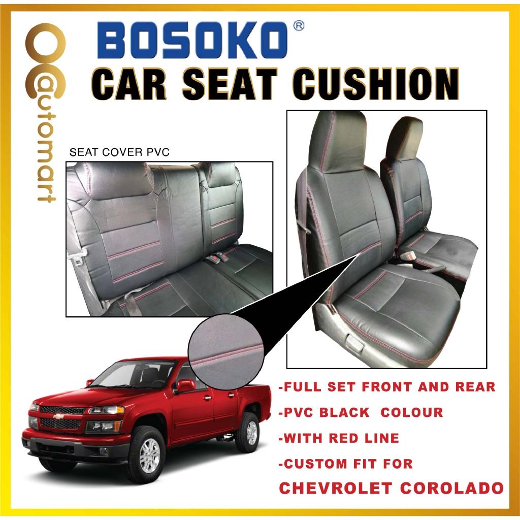 Chevrolet Corolado Yr 2012 - Custom Fit OEM Car Seat Cushion Cover PVC ( Made in Malaysia )