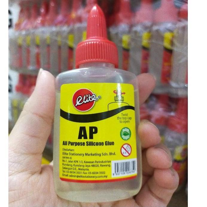 Elite AP All Purpose Silicone Glue ETSCG50