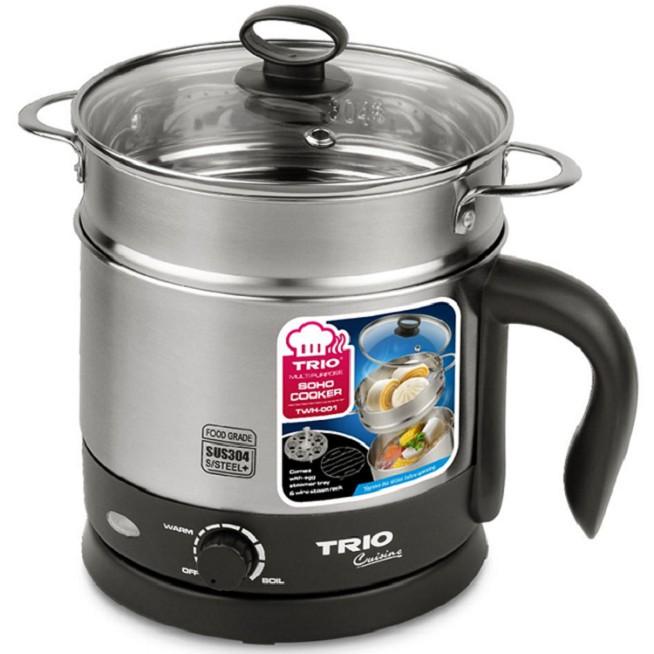 Trio Soho Cooker TWH-001 (For soup ,coffee, hot pot, noodles, steam eggs & buns)