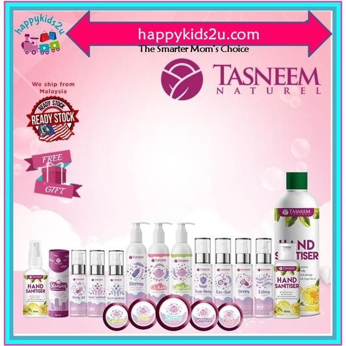 [Tasneem Naturel] Loose item - Balm Bayi l Mandian Bayi Baby Bath l Baby Lotion and  Baby Oil l Minyak bayi