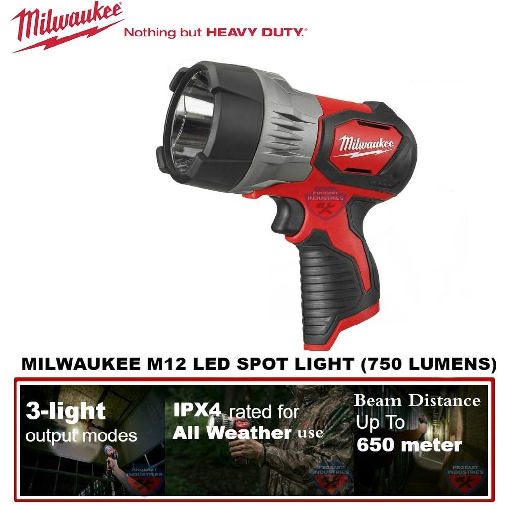 Milwaukee M12 TRUEVIEW™ LED Spot Light (Model: M12 SLED)