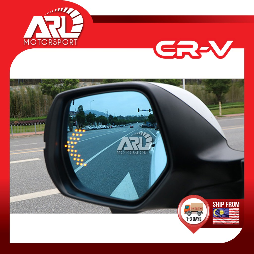 Honda CR-V / CRV (2017 - 2020) Blue Side Mirror with LED Signal Lamp Car Auto Accessories ARL Motorsport