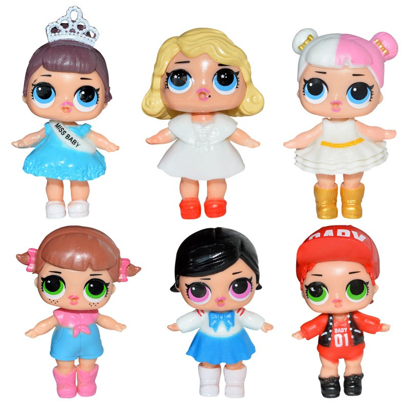 LOL Surprise Doll Baby Tear Series Ornament for Kids Toy Gift 8 Pcs Figures Set