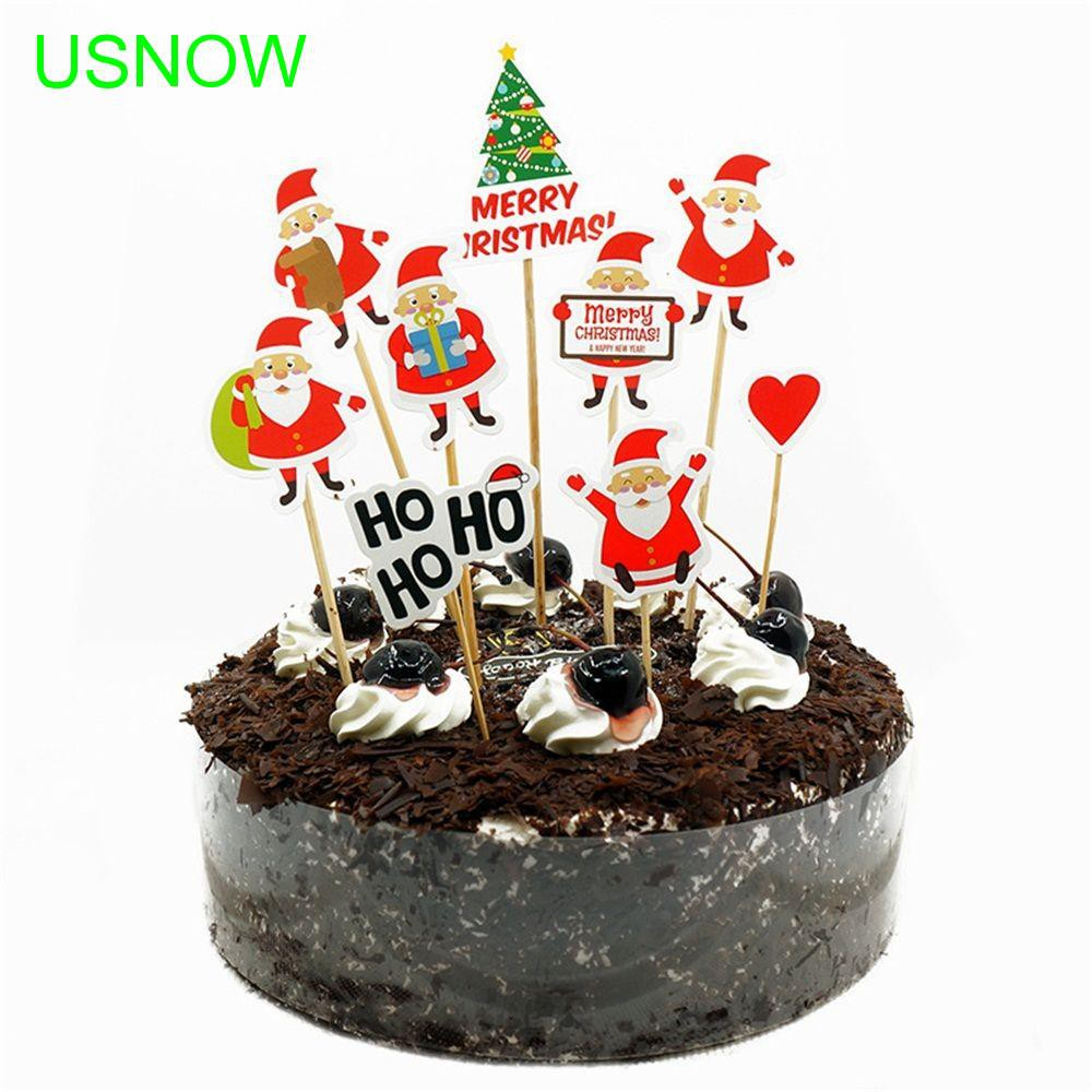 Decoration Christmas Birthday Party Insert Cake Insert Card