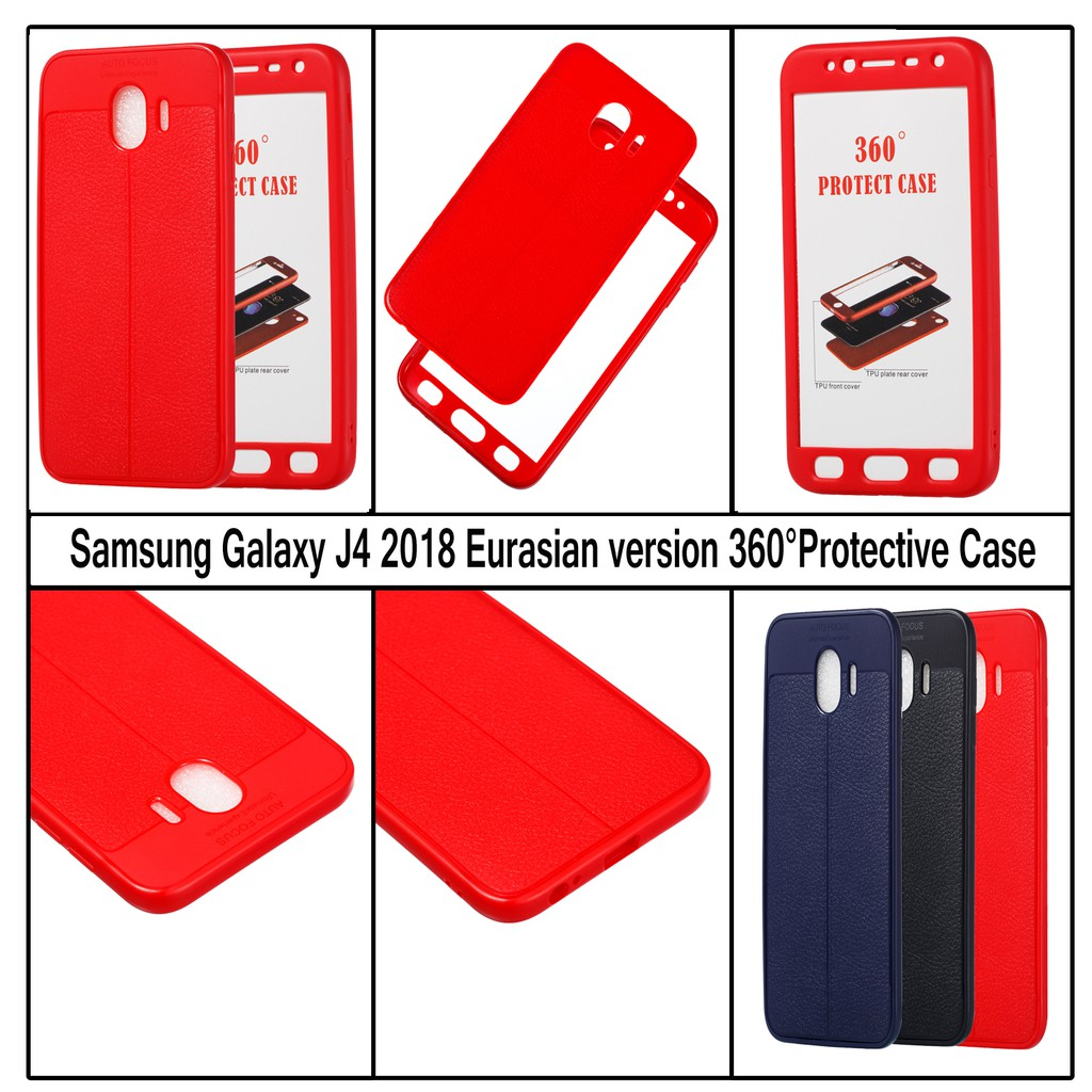 Galaxy J7 DUO 2018 Case Shockproof 360° Full Protective Rubber Shell Cover | Shopee Malaysia