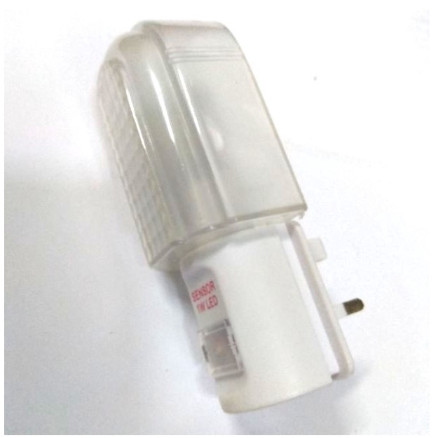 LED Night Light / LED Lampu Tidur With 3 pin plug