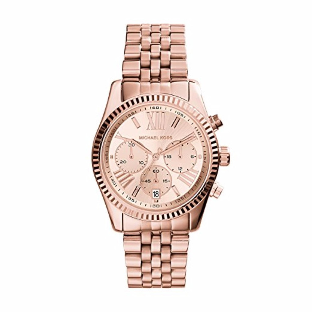 fc33649bc52b Michael Kors Sofie Chronograph Crystal Rose Dial Ladies Watch MK6559 ...