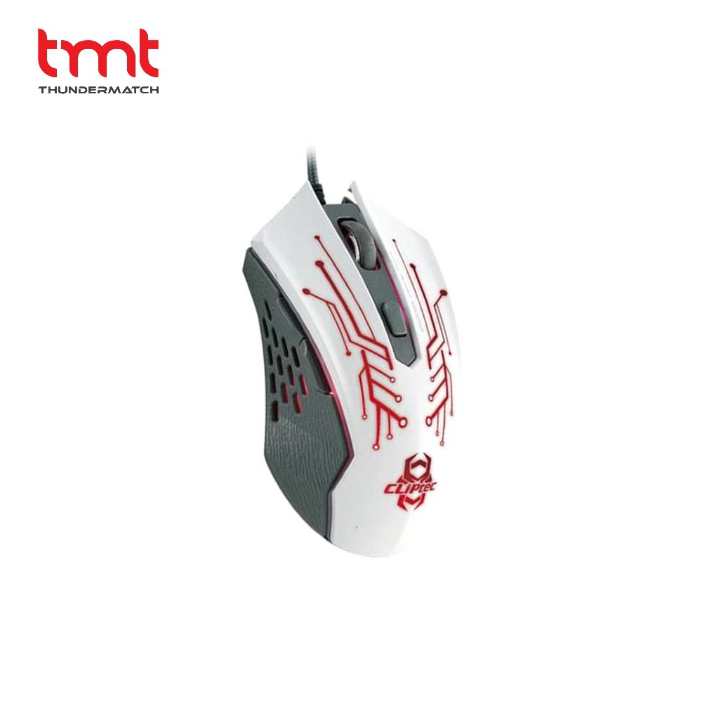 Cliptec Rgs 563 Therius Illuminated Gaming Mouse 2400dpi M110 Rechargeable Wireless 1600dpi Grey Black White Shopee Malaysia