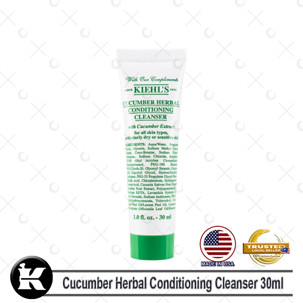 Kiehls / Kiehl's Cucumber Herbal Conditioning Cleanser 30ml (Trial Size)