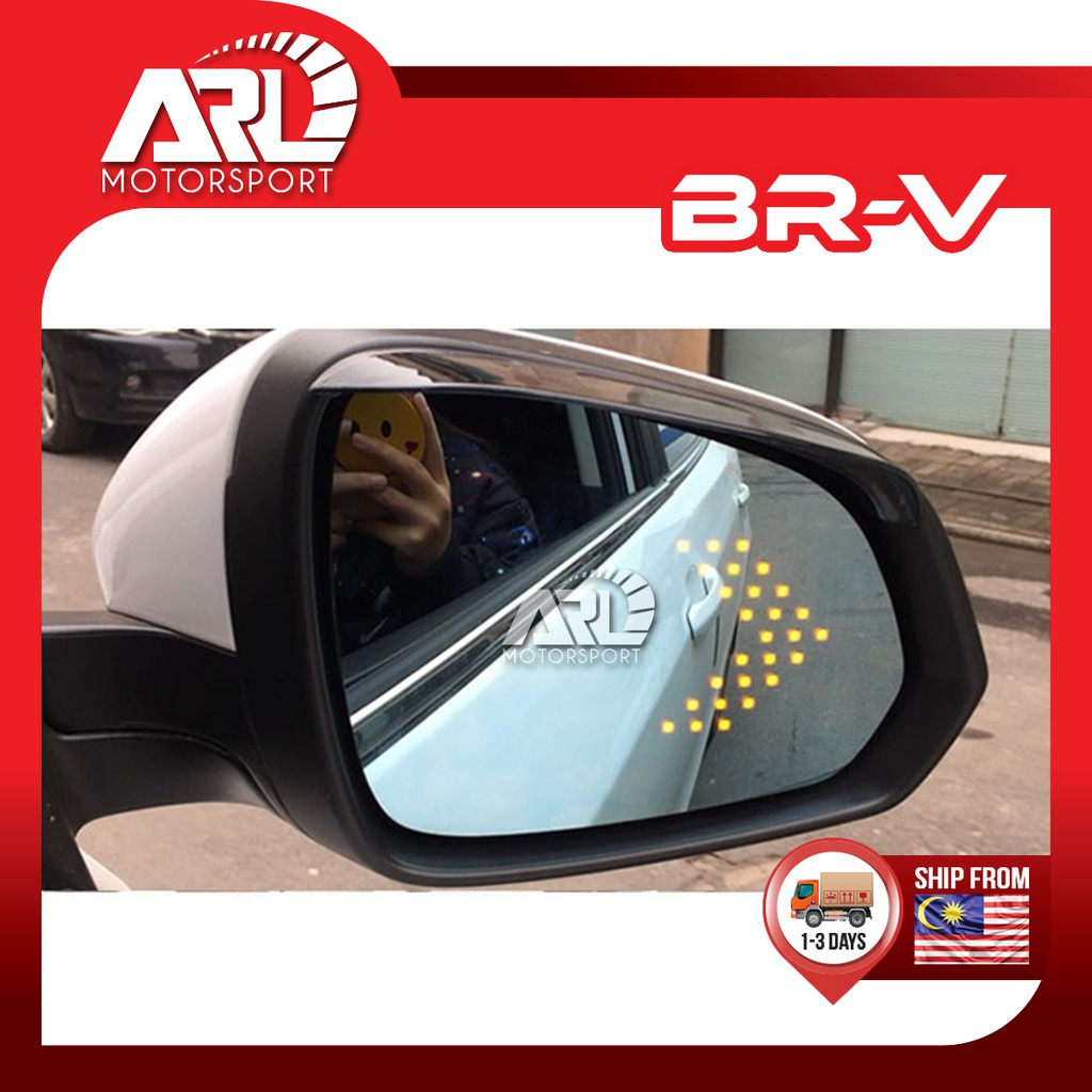 Honda BR-V / BRV  (2016-2021) Blue Mirror Side Mirror LED Signal Light Lamp Car Auto Acccessories ARL Motorsport