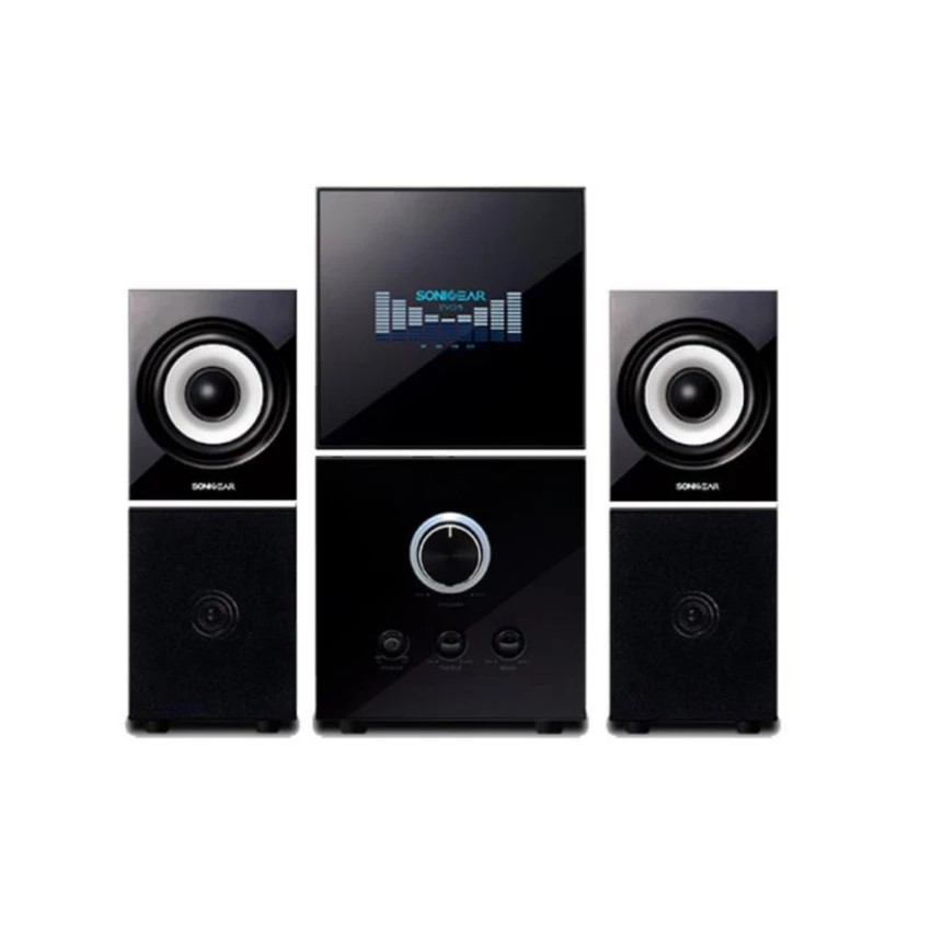 61bc971a2412d3 Sonic Gear Evo 7 Pro 2.1 Speakers with Bluetooth , FM Radio,SD Slot,USB Slot,Aux    Shopee Malaysia