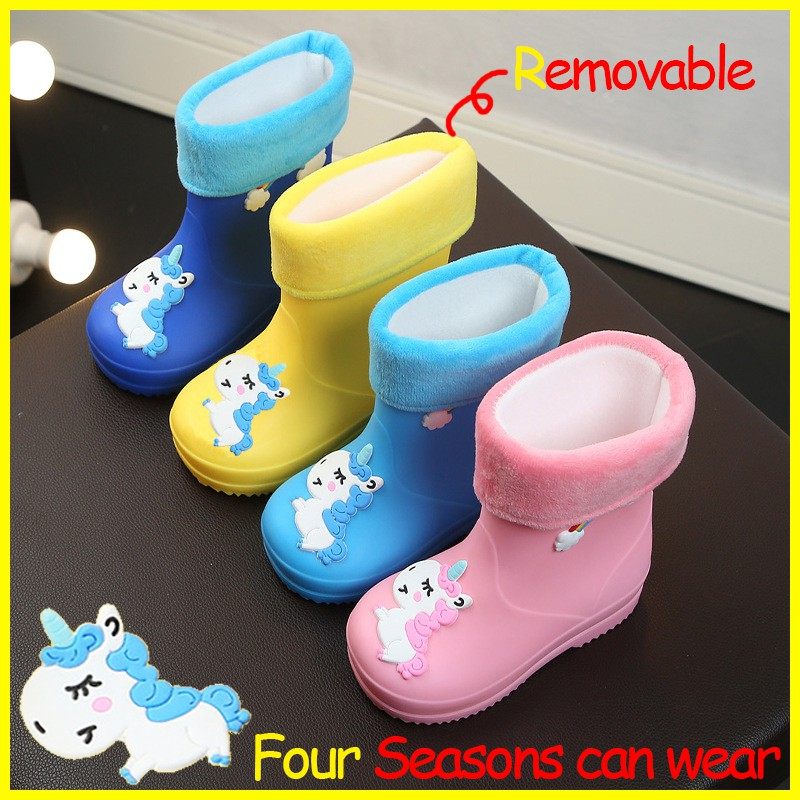ac7e764d7 🌈Unicorn 🌈 Boy And Girl Non-Slip Rain Boots 🌈 | Shopee Malaysia