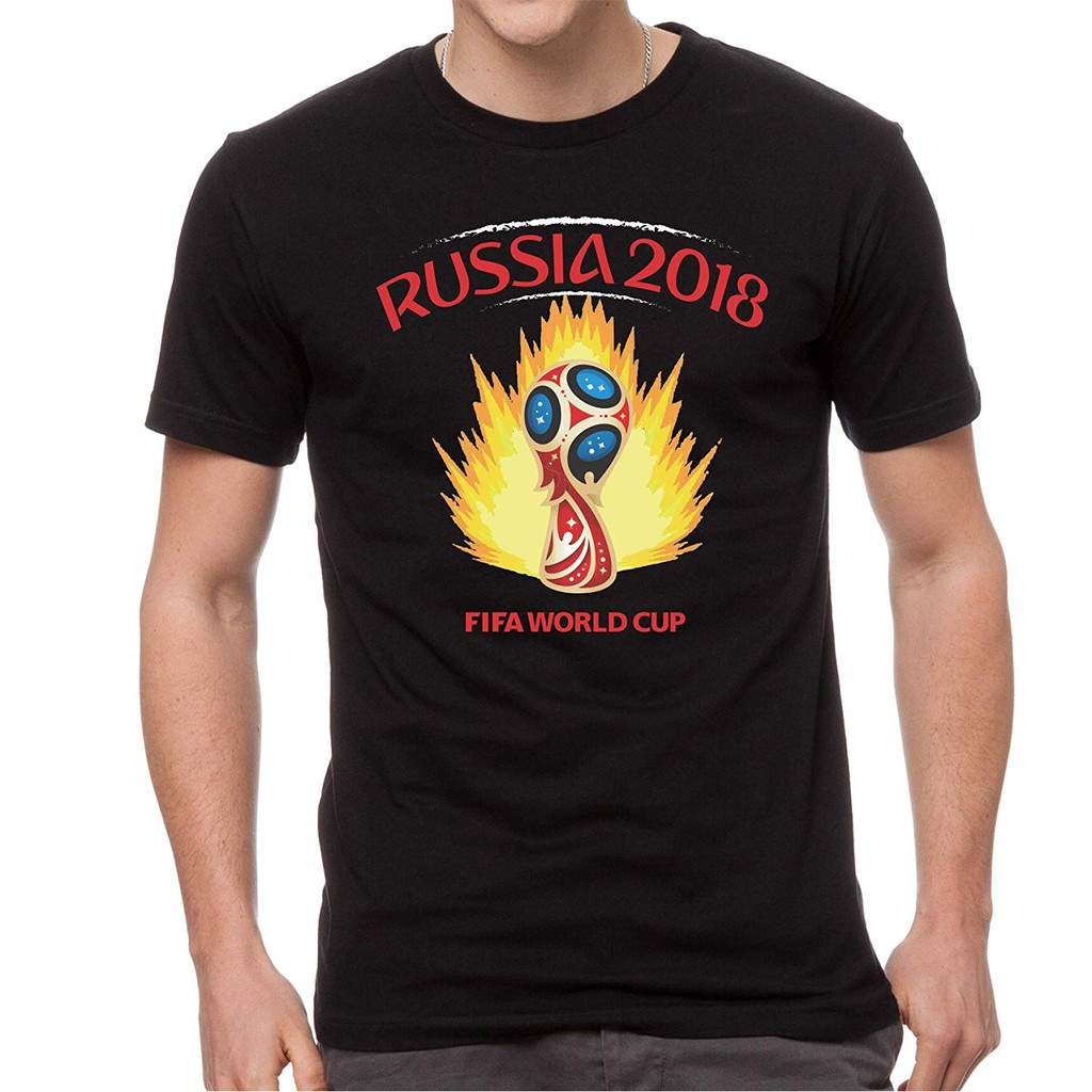 Russia Fifa World Cup 2018 T Shirt Men Women Shopee Malaysia Fashion Big Size Spain 3xl
