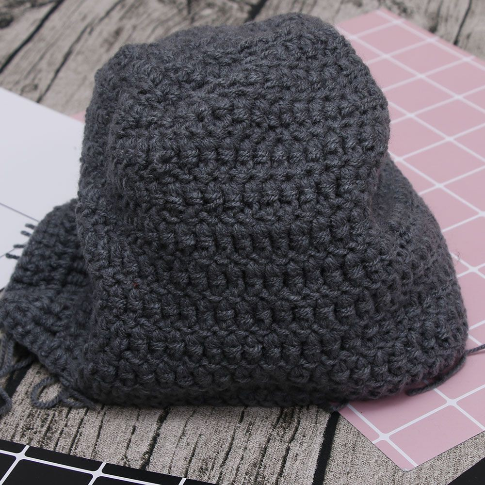 c090308ada9 Wig Beard Hat Hobo Mad Scientist Rasta Caveman Handmade Knit Warm Winter Cap