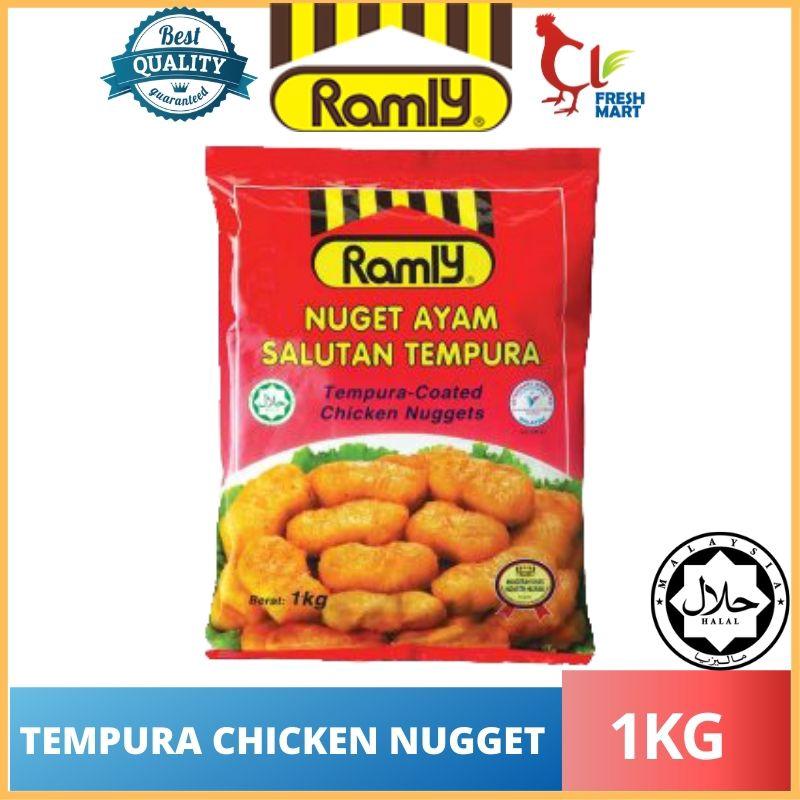 Ramly Tempura Chicken Nugget Ayam (1KG)