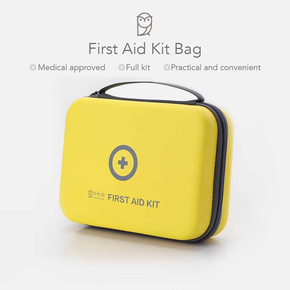 Xiaomi Portable First Aid Emergency Kit Bag for Outdoor Travel Home (Standard)