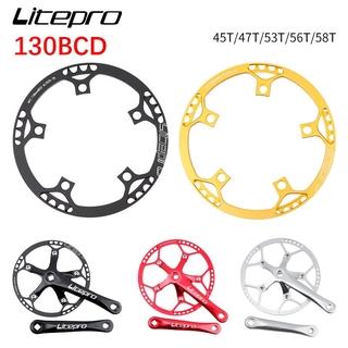 Litepro 130BCD 45//47//53//56//58T Chainring Road Folding Bike Sprocket Chainwheel
