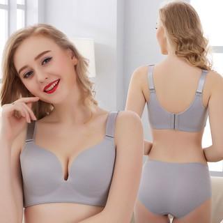underwear No Rims Bras Women Size 95 42 BCD Thin Wireless Bra Push Up Full Cup Womens Lingeries Purple B 36