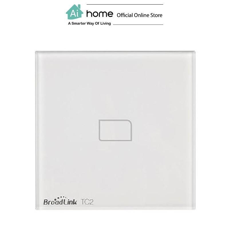 BroadLink TC2 Smart Single Light [ Smart Wi-Fi Switch ] (White) with 6 Month Malaysia Warranty [ Ai Home ]