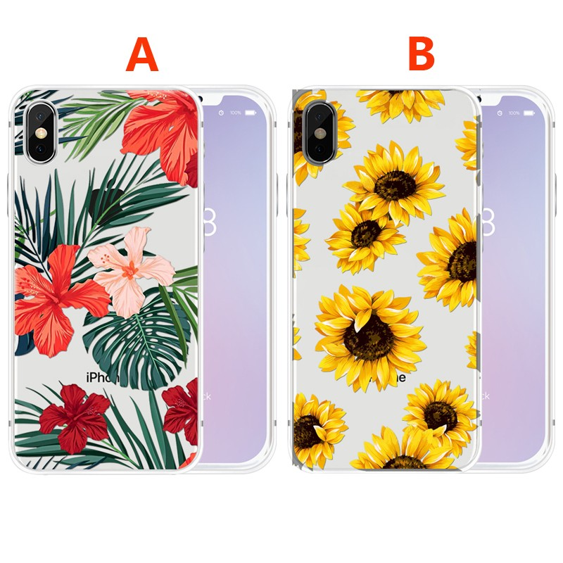 Sunflower Case For Iphone X 8 7 6 6s 5s Shopee Malaysia