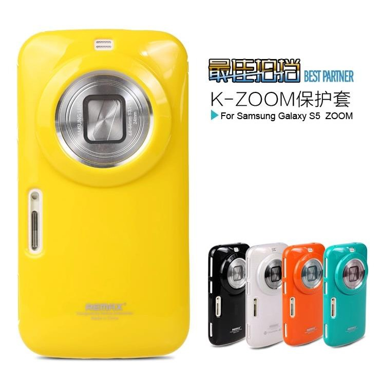 new arrival 86a6c 6cb7e Remax Samsung Galaxy S5 K Zoom Back Case Cover + Free Screen Protector
