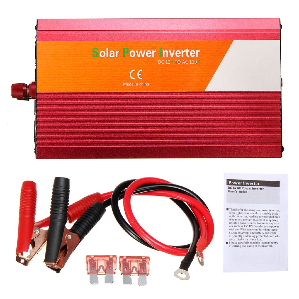 2200w Peak Power Inverter Dc Modified Sine Wave Converter With Fuse Solar Garden Light Circuit Further 5000 Watt Schematic Shopee Malaysia