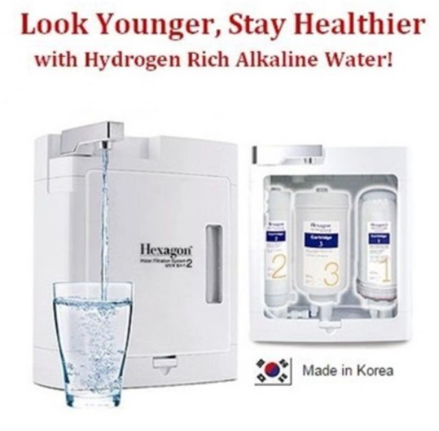 Hexagon Water Filtration System 2 & Filter Cartridge