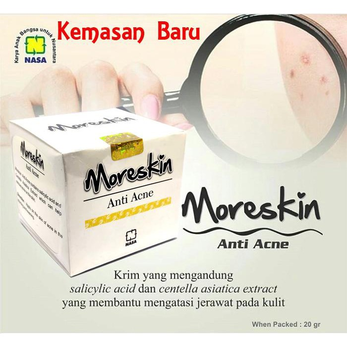Moreskin Anti Acne Original Ready Stock