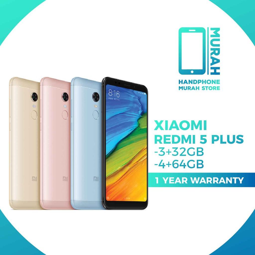 Xiaomi Redmi 5 Plusredmi Note New Set Imported 3 32gb 4 64gb 3s Pro 32 Gb Rom Global Gold Shopee Malaysia