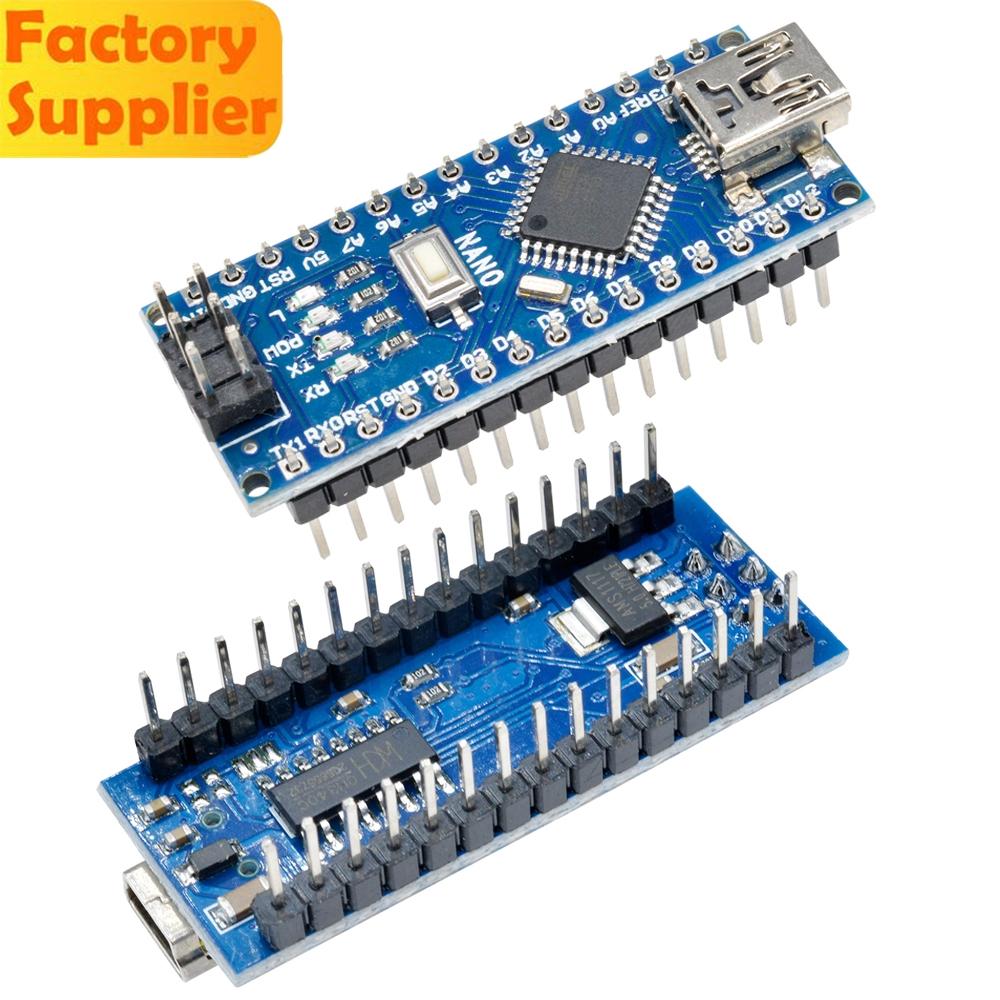 Nano V3.0 Mini USB ATmega328P-AU 5V 16MHz Micro-Controller CH340G Driver Arduino