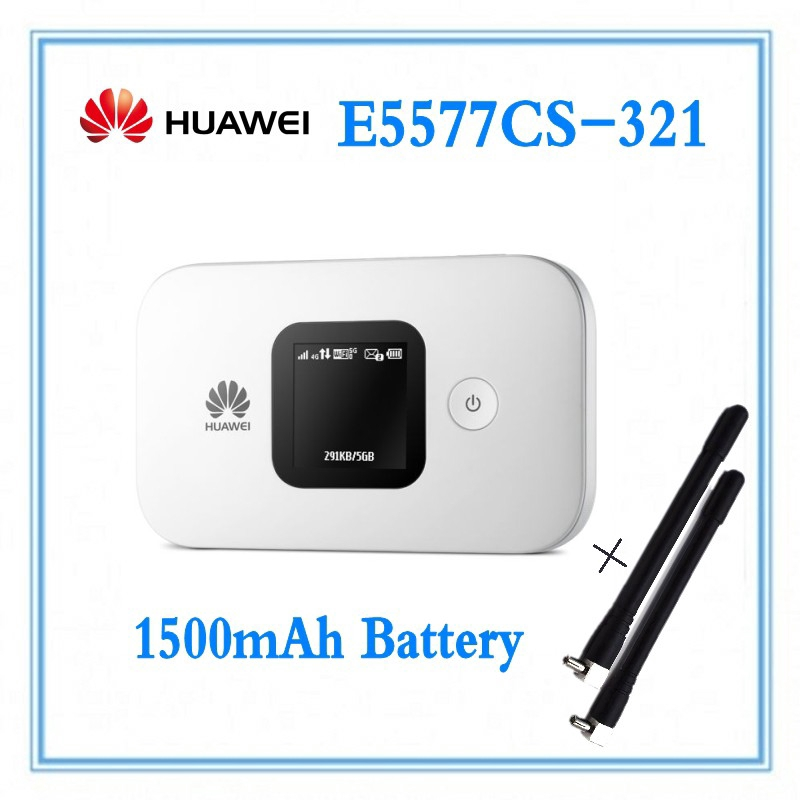 HUAWEI E5577 4G LTE 150Mbps Cat4 E5577Cs-321 with Antenna