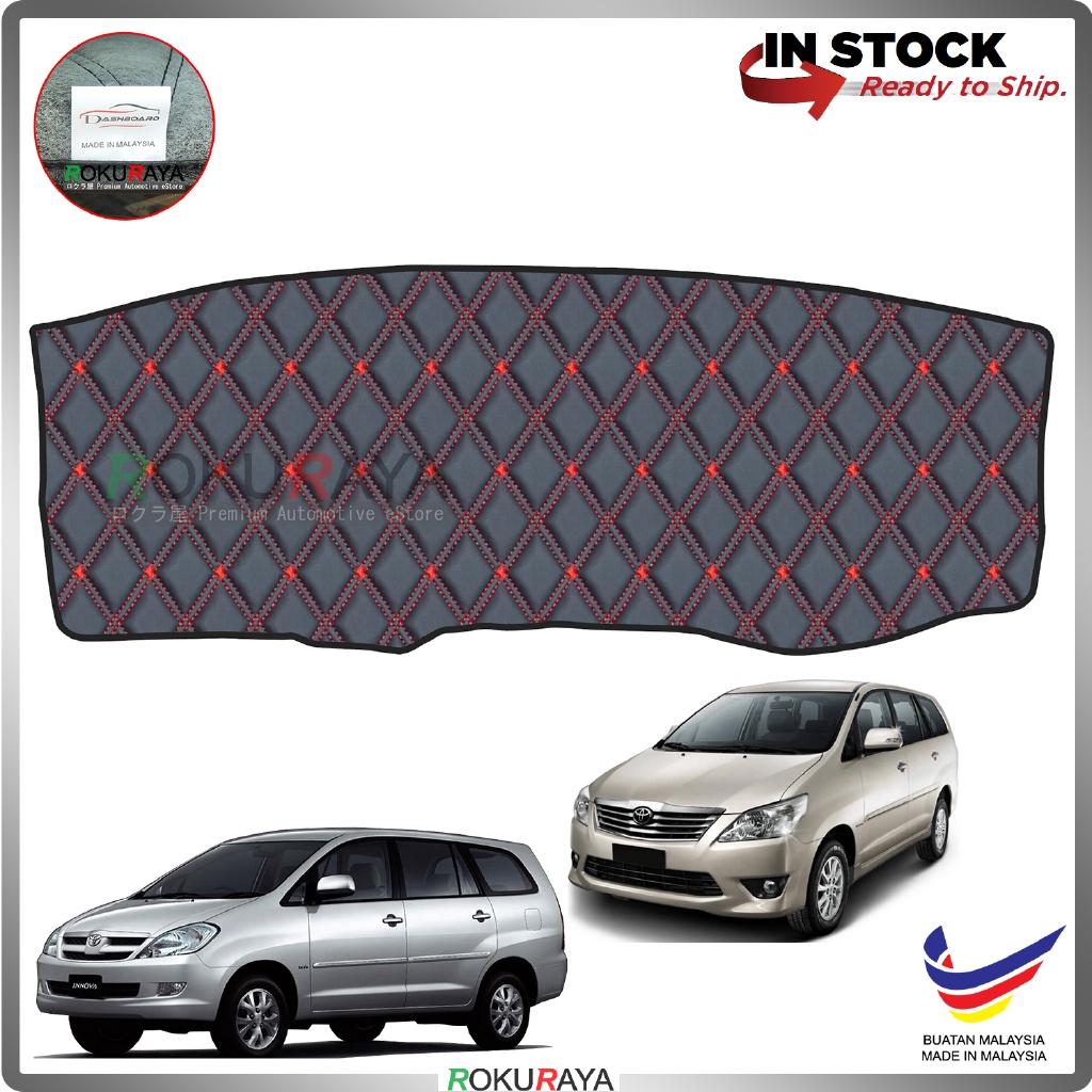 Toyota Innova (1st Gen) 2004-2015 RR Malaysia Custom Fit Dashboard Cover (RED LINE)