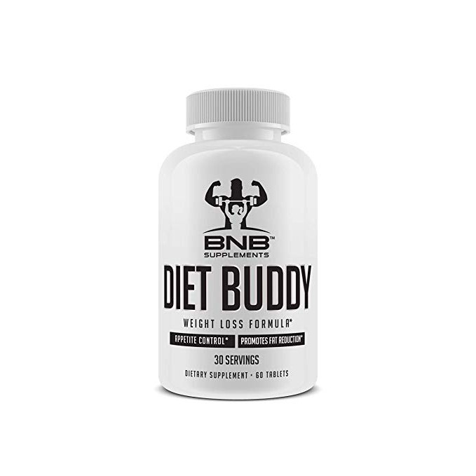 Diet Buddy Weight Loss Supplement Fat Burner Appetite Suppressant Thermogenic 60 Easy To Swallow Tablets