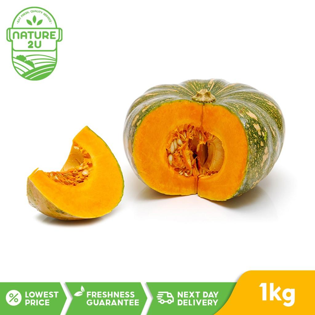 Fresh Vegetable - Pumpkin/Labu KUNING (1KG)