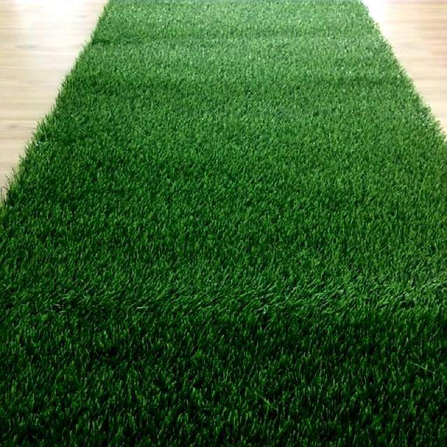 Karpet Rumput Cantik Bajet Indoor Lebar 200cm (Panjang 100cm) / Grass Carpet for Indoor Usage 200cm x 100cm