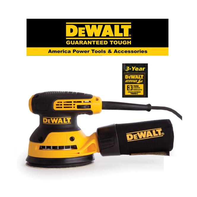 DEWALT  DWE6423- 125MM ORBITAL SANDER