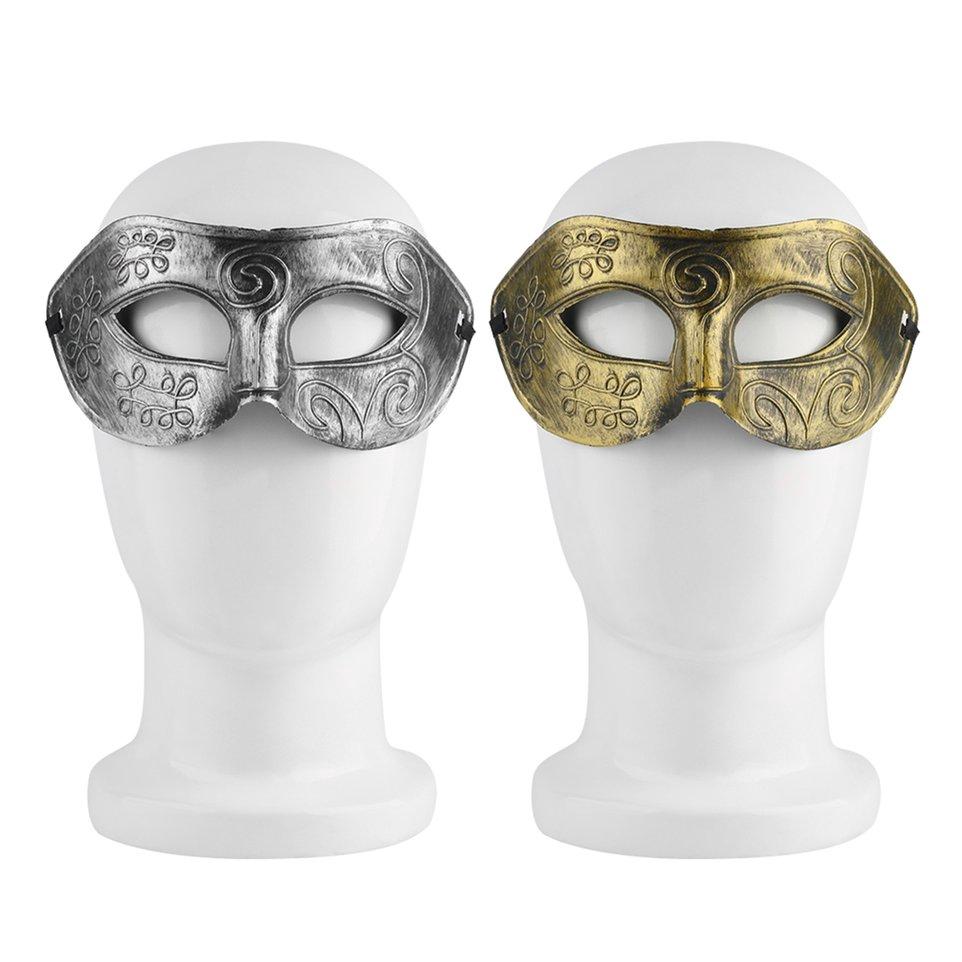 Retro Roman Gladiator Halloween Party Facial Masquerade Costume Mask