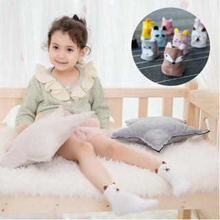 260c28f7aa3f6 5 pairs / set of cute 3D cartoon animal socks baby boy girl cotton ...