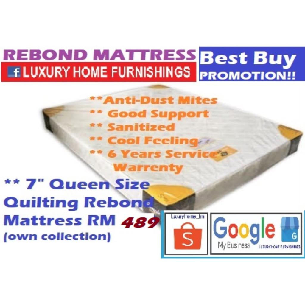 """MATTRESS COLLECTIONS, 7"""" Queen Size Mattress"""