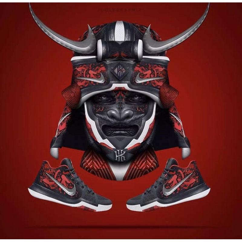 """47887d2a5ba7 Nike Kyrie 3 """"SAMURAI"""" Edition"""