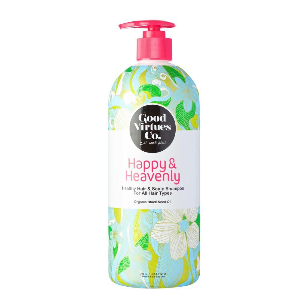 Good Virtues Co Healthy Hair & Scalp Shampoo For All Hair Types