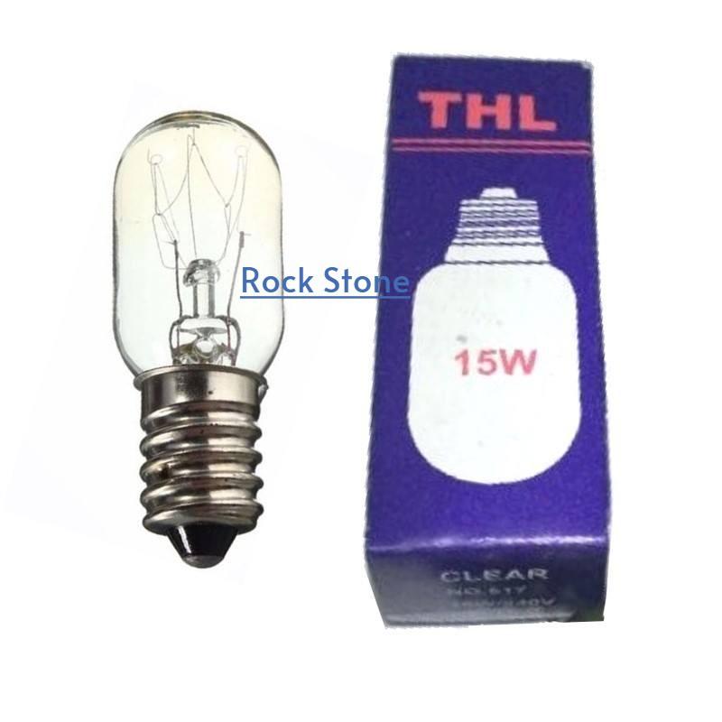 E14 15W THL Tubular Light Bulb For Fridge / Himalayan Salt lamp / Refrigerator (1 pc) 盐灯灯泡